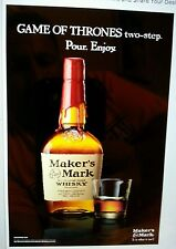 Makers mark Game of Thrones two step poster 24 by 36
