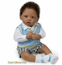"Ashton Drake ""MICHAEL,I LOVE YOU""-LIFELIKE POSEABLE BABY DOLL-NEW-IN STOCK NOW!"