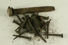 Vintage 1928-1956 Railroad Train Construction Hand Forged Metal Date Nails LOT B