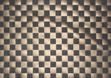 Black Bronze Checker Board Stretch Poly Spandex Fabric By The Yard ~ 2 colors