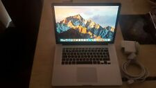 Apple MacBook Pro 15 Retina A1398 Quad Core i7 3.3GHz 8GB 256GB SSD OSx Sierra