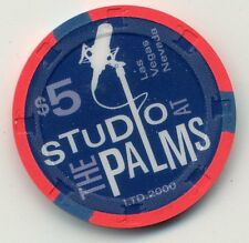 LAS VEGAS PALMS 2005 STUDIO GRAND OPENING  $5   CASINO UNC. CHIP