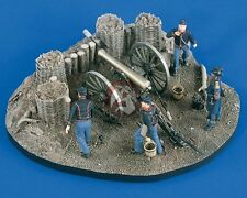 Verlinden 54mm 1/32 Union 12-Pounder Gun Emplacement Civil War (4 Figures) 2064