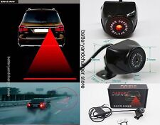 Auto Car Laser Red Fog Light Anti-collision Safety Warning Signal Taillight