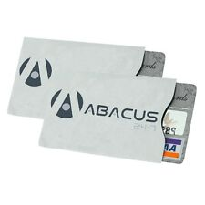 2 RFID Blocking Credit Card Secure Sleeve Protector Shields for ID/Payment Card