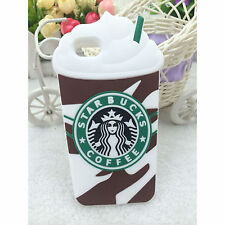 Chocolate, Coffee Ice Cream Silicone Rubber New 3D Case Cover For iPhone Samsung