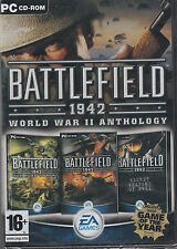 Battlefield 1942 World War II Anthology PC Brand New Sealed