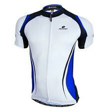 Men Road Cycling Jersey Short Sleeve Bike Shirt Team Riding Top Garments 3-Color