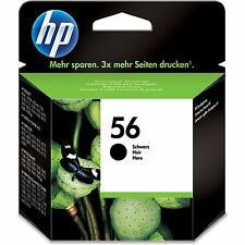 Genuine Original HP No 56 Black Ink Cartridge C6656AE DeskJet OfficeJet Printers