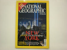 National Geographic settembre 2002 New York