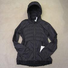 Lululemon Spring Fling Puffy Windbreaker Down Jacket Black 12