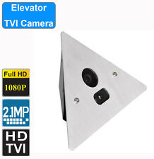 HD-TVI  Elevator Corner Camera, 2 MP Fixed 2.8mm Wide Angle Lens, Sony CMOS