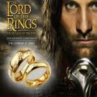 Lord of the Rings Stainless Steel The One Ring Bilbo's Hobbit Gold Ring GG