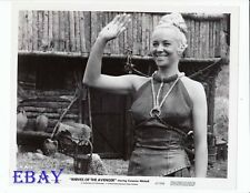 Sexy busty babe Knives Of The Avenger VINTAGE Photo