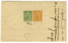 STRAITS SETTLEMENTS/MALAYA: Cover to Burma 1931