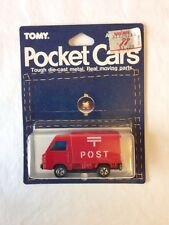 JAPAN TOMY TOMICA POCKET CARS NO. 31 RED SUBARU SAMBA POST OFFICE TRUCK