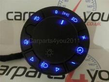 Vauxhall corsa d Bleu Phare LED commutateur avec fr & RR brouillards + frais de port gratuit uk