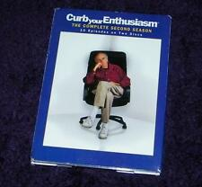 CURB your ENTHUSIASM dvd complete second season free ship