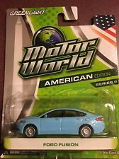 Greenlight MOTOR WORLD series 9  Ford Fusion  light blue.    ON SALE!