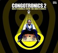 NEW - Buzz'n'rumble In the Urb'n'jungle (CD+DVD) by Congotronics 2
