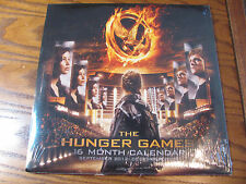 """The Hunger Games - 16 Month Calendar - 2012-2013 w/12"""" x 12"""" Full Page Photos"""