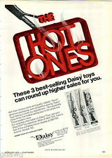 1977 ADVERT Daisy Air Rifle BB Gun Trail Rider Boss Western Carbine Spittin Imag