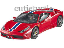 Hot wheels Elite Ferrari 458 Speciale 1:18 Limited BLY31 Red