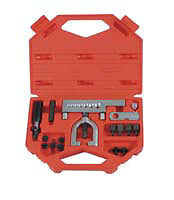 Lisle  56150 Combination Flaring Tool Kit Metric Iso Bubble Flare