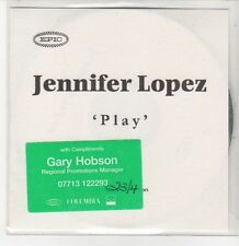 (DQ738) Jennifer Lopez, Play - DJ CD