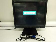 """NEC Multisync LCD Monitor 18"""" and Cables LCD1850E  Power Cord + VGA Cable (A4C)"""