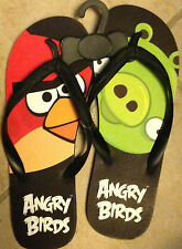 Angry Birds Men's Adult Flip Flops - Size 12 - New w/ Hang Tag