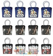 12x Star Wars The Force Awakens Birthday Party Goody Favors Loot Gift Candy Bags