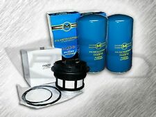 7.3L TURBO DIESEL 2 OIL FILTERS & 1 FUEL FILTER (WITH CAP) KIT FOR FORD - WOW
