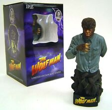 Wolfman Bust Statue  Universal Monsters Lon Chaney Jr.