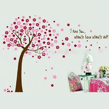 Wall Sticker Cherry Tree Removable Mural Decal Art DIY Home Room Decor Vinyl