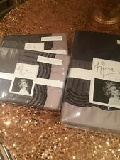 KYLIE AT HOME AMELIA DOUBLE DUVET COVER AND FOUR PILLOWCASES