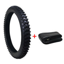 """3.00-21 80/100- 21"""" inch Front Knobby Tyre Tire +Tube PIT PRO Trail Dirt Bike US"""