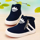 2016 Spring Children Canvas Shoes Boys Girls Sneakers Kids Casual High Top Shoes