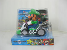 Mario Pull Back Car Super Mario Brothers Cart Nintendo Wii Figures LUIGI