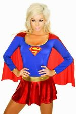 Sexy Women's Super Hero Fancy Dress Costume Outfit  8349 XXXL