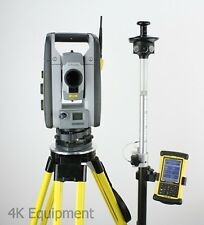 "Trimble RTS555 5"" DR Standard Robotic Total Station Nomad Data Collector MEP"