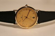 "RETRO BEAUTIFUL GENUINE SWISS LADIES GOLD PLATED QUARTZ WATCH""MAURICE LACROIX"""