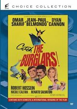 THE BURGLARS (1971 Omar Sharif)  Region Free DVD - Sealed