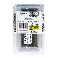 2GB SODIMM Acer Aspire One 725-0899 753 W7HB D270-1182 PC3-8500 Ram Memory