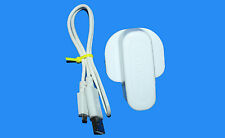 AD5055 GENUINE SAMSUNG CAMERA CHARGER - ST66 ST76 NX200 ST200F +USB CABLE WHITE