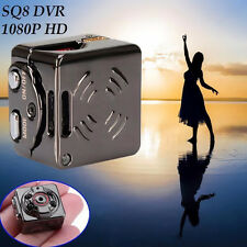 SQ8 DVR 1080P Mini DV Hidden Spy Camera Video Recorder Camcorder Night Vision