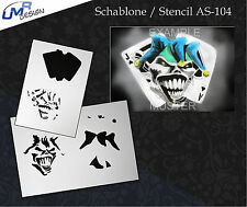 Step by Step Stencil ~~ UMR Airbrush Schablone AS-104 M