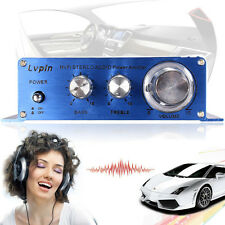 180W + 180W 2CH 12V Small Stereo High Power Amplifier for CD MP3 Car Audio Home