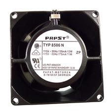 ebmpapst TYP 8506N All-metal high temperature fan AC115V 12W 80X80X38CM 2pin
