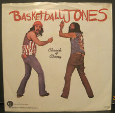 "Cheech & Chong ""Basketball Jones"" Ode Records 45 w/ PS"